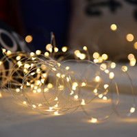 Wholesale Christmas Fairy light feet LED string M Leds USB copper wire mini light home party decorate string light waterproof