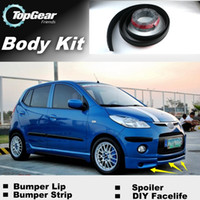 Wholesale For Dodge i10 The car around the front bumper rubber trim strip modified lip side skirts prolabium