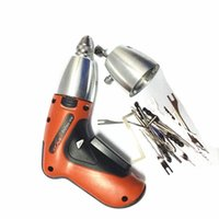 Wholesale New arrival electric gun Klom cordless Electric Lock Pick Gun Auto Locksmith Tools