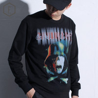 Wholesale 2016 Autumn Fashion brand clothing streetwear Skeleton Soldier oversized sweatshirts fleecewear men long sleeve hoodies pullover Tracksuit