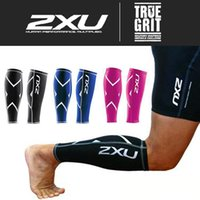 Wholesale 2016 XU Basketball Compression Training Leg Sleeves Calf Guard True Graduated Compression Boosts Circulation Aids Faster Recovery Free Size