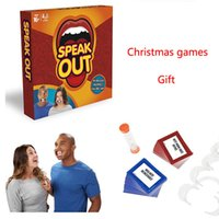 Wholesale Best selling board game speak out game interesting party game and family game christmas as gift