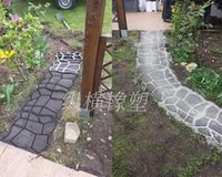 Wholesale DIY personality floor tile paving mould plastic mould Pathmate Paver stone mold concrete mould Pflasterform mode
