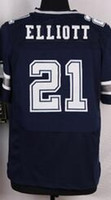 army brown - NIK Elite Football Stitched Cowboys Draft Ezekiel Elliott Smith Jones Claiborne White Blue Thanksgiving Jerseys Mix Order