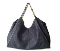 big hand bags - Jean Denim Ladies Hand Bag Women Big Hobo Handbag Shopper Tote Large Messenger Cross body Shoulder Bag