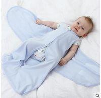 Wholesale Miracle Blanket Newborn Swaddling Wrap Sleep Sack Cotton Baby Swaddle Blanket Sleepsack Baby Clothes Mos