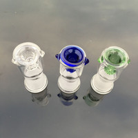 Wholesale 2016 Colors Glass Bowl Pieces For Bongs Female Male mm mm With Honeycomb Screen Round Glass Bowls For Oil Rigs Glass Bongs
