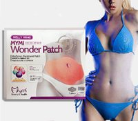 Wholesale 2016 Newest MYMI Wonder Patch Abdomen Treatment Patch Thin Belly Thin Stick Stick to Lose Weight Slim Patches Set TVA003