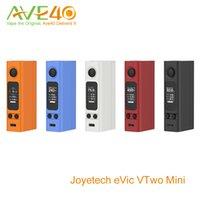 Precio de Evic joytech-Joyetech Evic VTwo mini-75w cuadro de la MOD con sistema inteligente y el reloj 100% original, VTC Actualización <b>JOYTECH EVIC</b> los mini mods Tc VS EVIC VTC Cubis
