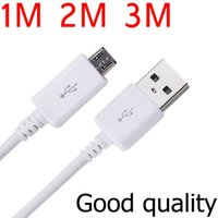 Wholesale Hot Sale Micro USB Data Cable Cord Phone Sync Charger for Samsung Galaxy LG Lenovo Huawei Xiaomi S5 S4 S3 Meizu Fast Charging