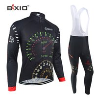 acrylic shrink - BXIO Brand Winter Thermal Fleece Cycling Jerseys Ciclismo Bike Bicicleta Cycling Clothing Pro MTB Bike Long Sleeves Wielerkleding BX