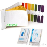 Wholesale 80 Strips Full Range pH Test Paper Alkaline Acid Water Litmus Testing Kit Hot Sales