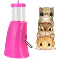 Wholesale Hamsters Water Bottle Holder Dispenser Drinker Hut Rat Mouse Hamsters Hideout Cool House Your Best Choice
