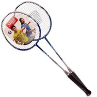 Wholesale Double happiness DHS E MX202 badminton racket pack has worn line