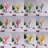 flower paper straws - 100pcs Mixed Colors Retro Vintage Paper Drinking Straws Vintage Flower Floral Birthday Wedding Party Prom Paper Straws