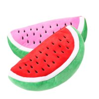 Wholesale Newest Practical Big Volume Watermelon Fruit Kids Pen Pencil Bag Case Gift Cosmetics Purse Wallet Holder Pouch School Supplies