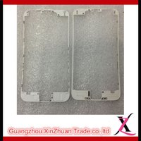 Wholesale Black And White Transparent High Quality Mobile Phone Protection Frame With Hot Glue Inch LCD Middle Frame Parts For IP