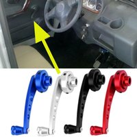 Wholesale New Universal Aluminum Back Replacement Vehicle Auto SUV Truck Car Window Crank Handles Winder Riser Kit hot selling