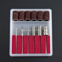 Wholesale set Professional Nail Drill Kit Bits file For Electric Drills Filling System