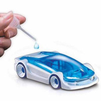 Wholesale New Novelty toys Green Energy Toys Salt Water Fuel Cell Car DIY Kits Children Kid Gift Toy