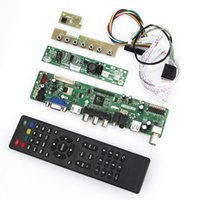 Wholesale T VST59 LCD LED Controller Driver Board TV HDMI VGA CVBS USB For B101UAN02 V LVDS Reuse Laptop