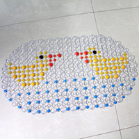 bath bubble mat - Bathroom Pad PVC Bath Mat Shower Tub Bathing Cobblestone Floor Rug Pebble Bubble Non Slip Fashionable Practical
