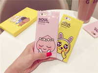 animal mobiles - Iphone6 Plus Mobile Phone Case Exclusive Cartoon Candy Type Lovely Forest Animal Mobile Phone IMD Protective Cover