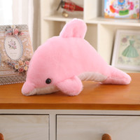 Wholesale Little dolphin plush toys creative couple dolphin doll children s Day graduation season birthday gift activities CM