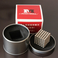 Wholesale 2016 Sale New for Intellectual Development mm Neodymium Magnetic Ball Spheres Beads Magic Cube Magnets Puzzle Ht410