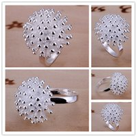 band fireworks - Mix size pieces silver fireworks rings GSSR001 Factory direct sale brand new fashion sterling silver finger ring