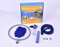 bathing kits - 2016 Woof Washer Pet Dog Bathing Cleaner Shower Kit Gently clean Grooming Tools With Package Gloves Pocket Hse