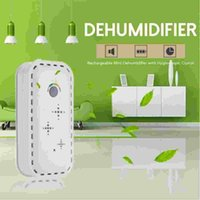 Wholesale TOP Rechargeable Mini Dehumidifier Desiccant Moisture Absorbing Air Dryer with Hygroscopic Crystal for Wardrobe