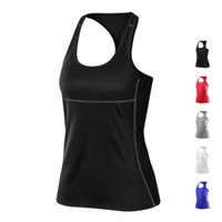 Wholesale 2016 New Brand Yoga top womens Fitness Gym yoga tank top female yoga outfits running Vests girl yoga tank top vests dry fit yoga clothingF01