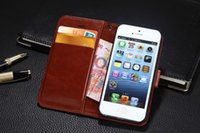 apple dump - Luxurious leather pu dumping iphone can the person that hold card wallet type mobile phone case