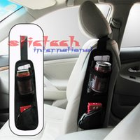Wholesale by dhl or ems Hanging Storage Bags Organizer waterproof fabric Car Auto Vehicle Seat Side Back Storage Pocket Backseat