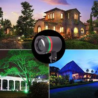 Wholesale Outdoor Garden Decoration Waterproof Laser Light Lawn Lamps color Laser Star Projector Showers Christmas halloween Lights Outdoor EMS