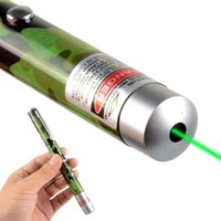 Wholesale 5mW nm Green Beam Laser Pointer Pen Light Military Grade G00065 FAH