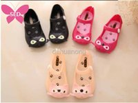 Wholesale 2016 Hot Summer Mini SED Baby Sandals Fish Mouth Jelly Cats Platform Sandals Soft Lightweight Same Style With Beckham s Daughter Eur