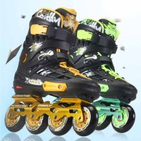 adult rocking chair - Canfly Slalom Inline Skates Wheels Adult Skating Shoes With Rocking Type PU Wheels For Free Skating Sliding Street Skating