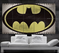 batman wall paper - Batman logo wall art Poster PARTS print wall art huge giant photo No218
