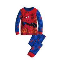 baby nightgown patterns - Spider Pattern Printing Childrens Pyjamas Kids Baby Boy Top and Pants Nightwear Pajamas Set Sleepwear Kids Pjs Hotsale