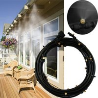 Wholesale 008 Popular Portable Cool Patio Low Pressure Misting Cooling System with Fine Mist M with nozzles