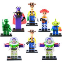 Wholesale Toy story woody minifigures building blocks bricks buzz light year toys Sets Model Toys Minifigures Bricks sets for kids christmas gifts