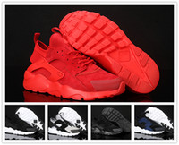 arrival casual sneakers - 2016 New Arrival Huarache Running Shoes Men Women Airs s for Top quality Casual Outdoor Sports Sneakers Size