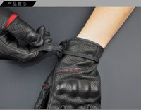 Wholesale free delivery Multifunction racing gloves Motorcycle gloves M L XL perforated summer Non perforated winter Leather