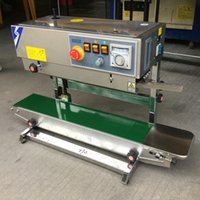 band sealers - FRB II Continuous band sealer for plastic film vertical model V