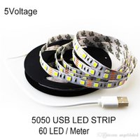 background cool - 5V LED Strip SMD LEDs Per Meter M M M USB LED light strip Christmas Home Party TV Background lighting