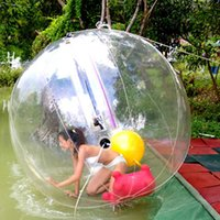 Wholesale 1 M M M Walk on Water Walking Ball Roll Inflatable German Zipper Zorb PVC