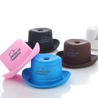 aerosol caps - DC V USB Air Humidifier Portable Humidifier Cowboy Cap Car Office Household Air Purification Humidifier Aromatherapy Mist Maker