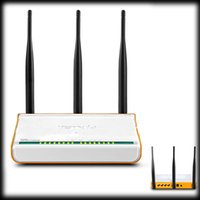 Wholesale by dhl or ems Mbps Wireless N Router WiFi Router WDS Repeater dBi Antennas Ports